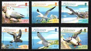 Alderney Stamps 2006 SG A282-A287 Resident Birds (Series 1) Mint MNH