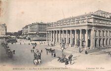 BORDEAUX - la place de la Comédie et le Grand Théâtre