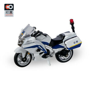 1/64 Motorcycle Alloy Model Escort Mounted Police Police Traffic Police Boy Toy