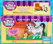 VTG LITTLEST PET SHOP LPS ZOO BABY ZEBRA ZOO NURSERY PLAYSET #60123 NRFB 1993