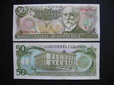 COSTA RICA  50 Colones 7.7.1993  (P257a)  UNC
