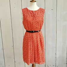 NWT Karen Walker Hi There Anthropologie Red White Polka Dot Spot Dress Size 10 P