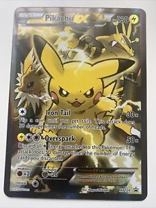 PikachuEX XY124 Giant Oversized Card- Excellent Condition