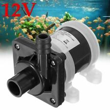 Submersible Water Pump Solar Powered Brushless Magnetic Fish Pond 900L/H DC 12V