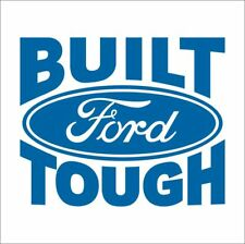 Ford Built Ford Tough 4x4 Car Toolbox Sticker