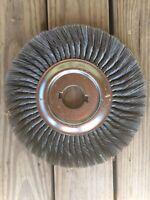 """Weiler 12"""" Standard Twist Knot Wire Wheel .014 Steel Fill 2"""" Arbor Hole"""