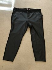 Torrid Plus Size 24 Leather Stretchy  Jeggings