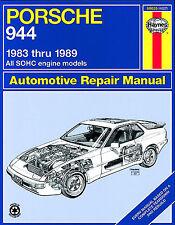 Haynes Workshop Manual for Porsche 944 (83-89)