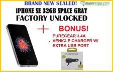 NEW SEALED +BONUS! Apple iPhone SE - 32GB - Space Gray (Unlocked) Smartphone