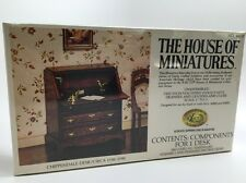 The House of Miniatures Chippendale Desk Dollhouse No. 40017, Sealed