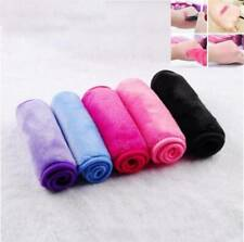 Soft Reusable Eraser Remover Towels Make Up Cleaning Towel Fibre Cloth Makeup .M