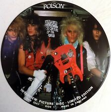 """Poison - Limited Edition Interview - 12"""" Picture Disc LP - 1987 - UK - New"""