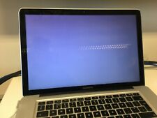 Macbook Pro A1286 16Gb Ram 750Gb HD - Will not boot suspected graphics card