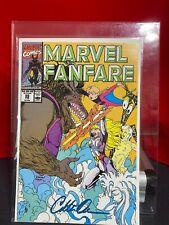 Marvel Fanfare #55 1990 Marvel Comics Signed Colleen Doran Power Pack
