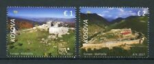 Kosovo 2017 MNH Europa Castles 2v Set Architecture Tourism Landscapes Stamps