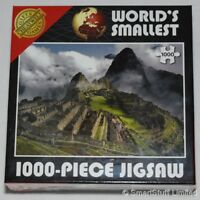 Worlds Smallest Jigsaw Machu Picchu - 1000 Pieces  - Family Kids Party Game