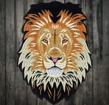 PATCH XL ECUSSON TETE DE LION THERMOCOLLANT