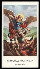 santino-holy card EGIM n.256 S. MICHELE ARCANGELO