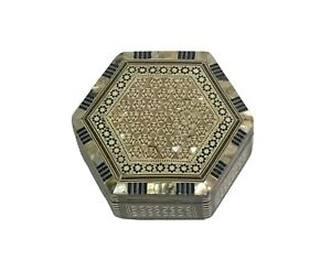 MOTHER-OF-PEARL INLAID JEWELRY BOX - HANDMADE - FROM EGYPT!