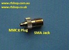 adaptor, adapter, SMA, female jack to MMCX Plug (male inner pin)  CH-AJ-MMCXP
