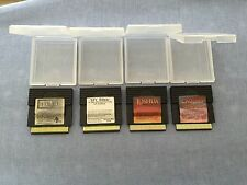 Wisdom Tree Gameboy Lot NIV Bible King James Bible Exodus Joshua