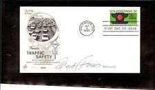 US AUTOGRAPHED FIRST DAY COVER SCOTT# 1272, TRAFFIC SAFETY  1 SIGNATURE