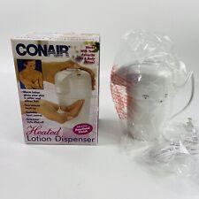 Conair Heated Lotion Dispenser HLD20P Variable Heat Warmer - New Open Box