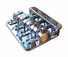 Babicz Full Contact Hardware 4-String Bass Bridge - Chrome