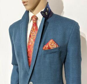 BNWT Hackett X Loro Piana Hand Made Slim Fit Blazer Sport Coat UK 42R RRP £550