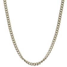 Silver Chain Curb Chain 1,6 mm 36 cm Solid 925 Sterling Silver High Quality Neck