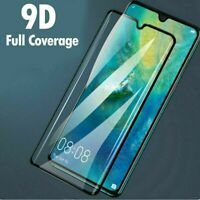 For Huawei P20 P30 P40 Lite Pro Full Cover Tempered Glass Screen Protector