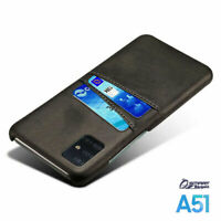 PU Leather Card Holder Wallet Back Case Cover For Samsung Galaxy A51 A21s A11