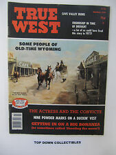 True West Magazine   S/O  1977   The Legacy Of Ludwig Fischer/Cave Valley Ruins