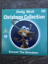 DONNER THE REINDEER DVD Promo Daily Mail CHRISTMAS COLLECTION