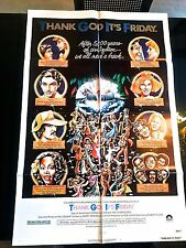 Thank God It's Friday 1978 One Sheet Poster-Casablanca Records/Donna Summer