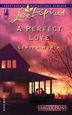 Larger Print Romance A Perfect Love by Lenora Worth (2005, PB  ) Love Inspired