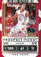Trae Young 2020-21 Contenders Draft Picks Prospect Ticket Card #23 OK Sooners