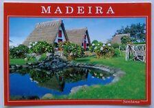 Santana Madeira Typical Houses Postcard (P283)