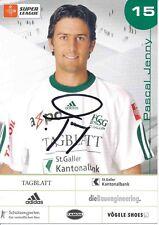Pascal Jenny   FC  ST.Gallen  Fußball Autogrammkarte signiert 375338