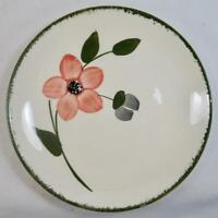 Pinkie Bread & Butter Plate Blue Ridge Pottery Pink And Gray Flowers (O) AS IS