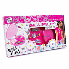 Grafix GL Style Mega Jewellery Designer Kit Sparkle Stars 5 + Years