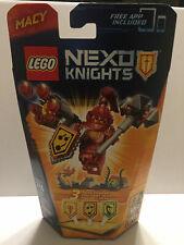 New in Box Lego Nexo Knights Ultimate Macy Set# 70331 (Retired)