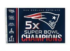 Fremont Die NFL NEW England Patriots Super Bowl 51 5x Champions 3 X 5-foot Flag
