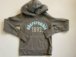 Abercrombie Fleece Pullover Hoodie Sweatshirt Youth XL