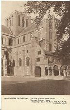 Hampshire Postcard - Winchester Cathedral - The S.W. Corner   A6098