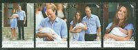 NEW ZEALAND 2013  BIRTH OF PRINCE GEORGE SET W/WILLIAM & KATE  MINT NH