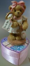 """CHERISHED TEDDIE """"JOSETTE YOU ARE THE KEY TO MY HEART"""" 805610-S IN BOX"""