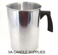 4 LB POUR POT FOR CANDLE OR SOAP MAKING / CANDLE MAKING SUPPLIES