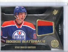 Ryan Nugent-Hopkins 2 color RC Jersey Patch 11-12 UD SPX True Rookie Rare SP
