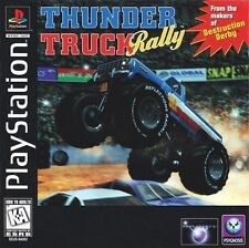 Thunder Truck Rally PS1 Great Condition Fast Shipping